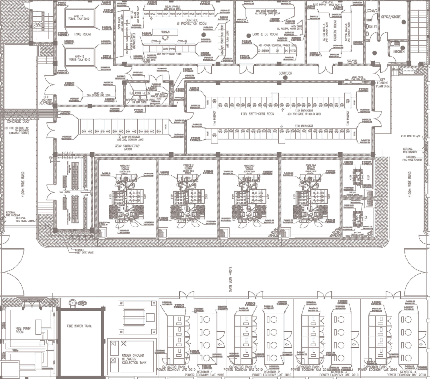 Electrical substation layout images for Substation pdf